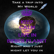 KEEP CALM AND LIVE IN BIEBER PLANET - Personalised Poster large