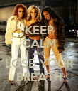 KEEP CALM AND LOSE YOUR BREATH - Personalised Poster large