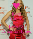 Keep Calm  And Love<3  Amanda Bynes - Personalised Poster large