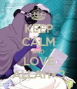 KEEP CALM AND LOVE ALLAH<3 - Personalised Poster large