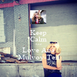 Keep Calm And Love Ana Mulvoy-Ten - Personalised Poster large