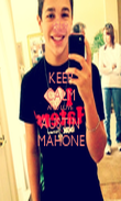 KEEP CALM AND LOVE AUSTIN MAHONE - Personalised Poster large