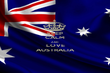 KEEP CALM AND LOVE AUSTRALIA - Personalised Poster large