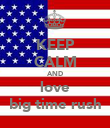 KEEP CALM AND love big time rush - Personalised Poster large