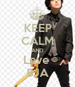 KEEP CALM AND Love  BJA - Personalised Poster large