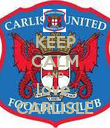 KEEP CALM AND love  CARLISLE - Personalised Poster large