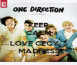KEEP CALM AND LOVE CECY´S MADNESS - Personalised Poster large