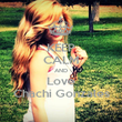 KEEP CALM AND Love Chachi Gonzales - Personalised Poster large