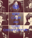 KEEP CALM AND LOVE CHO KYUHYUN ! - Personalised Poster large