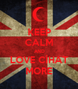 KEEP CALM AND LOVE CİHAT MORE - Personalised Poster large