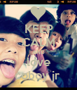 KEEP CALM AND love coboy jr  - Personalised Poster large
