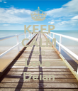 KEEP CALM AND Love  Deian - Personalised Poster large