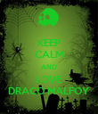 KEEP CALM AND LOVE DRACO MALFOY - Personalised Poster large