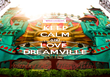 KEEP CALM AND LOVE  DREAMVILLE - Personalised Poster large