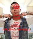 KEEP CALM AND LOVE  EMILIANO GIAMBELLI - Personalised Poster large