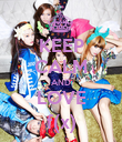 KEEP CALM AND LOVE f(x) - Personalised Poster large