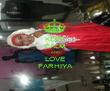 KEEP CALM AND LOVE FARHIYA - Personalised Poster large