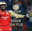 KEEP CALM AND LOVE GAYLE - Personalised Poster small