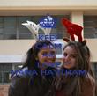 KEEP CALM AND LOVE HANA HAYTHAM - Personalised Poster large