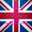 KEEP CALM AND LOVE HAROLD STYLES - Personalised Poster large