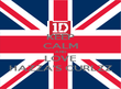 KEEP CALM AND LOVE HAZZA'S CURLZZ - Personalised Poster large