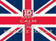 KEEP CALM AND LOVE HAZZA'Z CURLZZ - Personalised Poster large