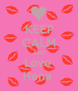 KEEP CALM AND Love  Hena  - Personalised Poster large