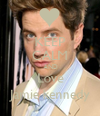 KEEP CALM AND Love Jamie kennedy - Personalised Poster large