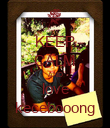 KEEP CALM AND love kecebooong - Personalised Poster large
