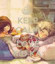 KEEP CALM AND LOVE KID KA - Personalised Poster large