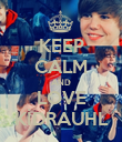 KEEP CALM AND LOVE KİDRAUHL - Personalised Poster large