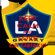 KEEP CALM AND LOVE LA Galaxy! - Personalised Poster large