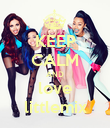 KEEP CALM AND love littlemix - Personalised Poster large