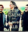 KEEP CALM AND Love LLB - Personalised Poster large