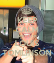 KEEP CALM AND LOVE LOUIS TOMLINSON - Personalised Poster large