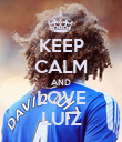 KEEP CALM AND LOVE LUIZ - Personalised Poster large
