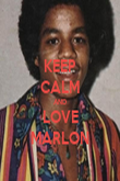KEEP CALM AND LOVE MARLON - Personalised Poster large