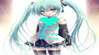 KEEP CALM AND LOVE MIKU - Personalised Poster large