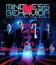 KEEP CALM AND LOVE Mindless Behaviour<3 - Personalised Poster large