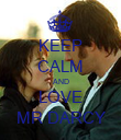 KEEP CALM AND LOVE MR DARCY - Personalised Poster large