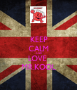 KEEP CALM AND LOVE  MR.KOOL - Personalised Poster large