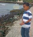 KEEP CALM AND LOVE NABIL ARTA MAKARIM - Personalised Poster large