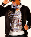 KEEP CALM AND LOVE NJR - Personalised Poster large