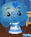 Keep Calm and Love Nyuszifül:) - Personalised Poster large