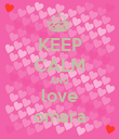 KEEP CALM AND love omara - Personalised Poster large