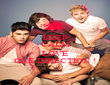 KEEP CALM AND LOVE ONE DIRECTION ! - Personalised Poster large