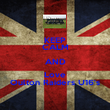 KEEP CALM AND Love Oulton Raiders U16's - Personalised Poster large