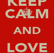 KEEP CALM AND LOVE RAGLAN - Personalised Poster large