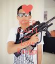 KEEP CALM AND Love Rangga - Personalised Poster large