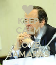 KEEP CALM AND LOVE SAMARAS - Personalised Poster large